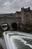 Puente de Pultney en el baño, Somerset Foto de archivo libre de regalías