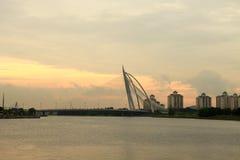Puente de Putrajaya Foto de archivo libre de regalías