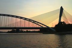 Puente de Putrajaya Fotografía de archivo