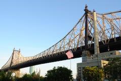 Puente de Queensboro Imagen de archivo libre de regalías
