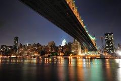 Puente de Queensboro Fotos de archivo libres de regalías
