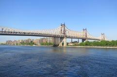 Puente de Queensboro Fotos de archivo