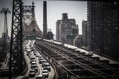 Puente de Queensboro Foto de archivo