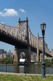 Puente de Queensboro imagen de archivo