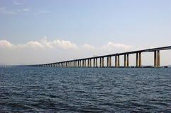 Puente de Río-Niterói Fotografía de archivo libre de regalías