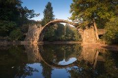 Puente de Rakotz Imagen de archivo