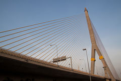 Puente de Rama en Bangkok Foto de archivo libre de regalías