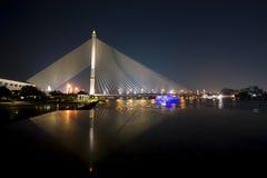 Puente de Rama VIII Imágenes de archivo libres de regalías