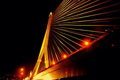 Puente de Rama VIII Fotos de archivo libres de regalías