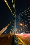 Puente de Rama VIII imagen de archivo libre de regalías