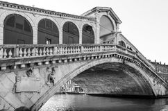 Puente de Rialto de Venecia Fotografía de archivo