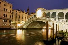 Puente de Rialto, Venecia Imagen de archivo