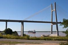 Puente de Rosario Victoria imagen de archivo