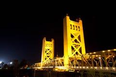Puente de Sacramento Foto de archivo