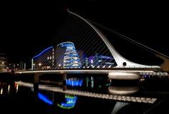 Puente de Samuel Beckett, Dublín, Irlanda Foto de archivo libre de regalías