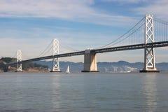 Puente de San Francisco Bay Imágenes de archivo libres de regalías