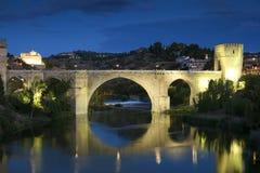 Puente de San Martín, Toledo foto de archivo libre de regalías