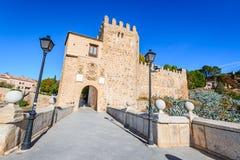 Puente de San Martin, Toledo, Spain Royalty Free Stock Photos