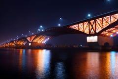 Puente de Seongsan foto de archivo libre de regalías