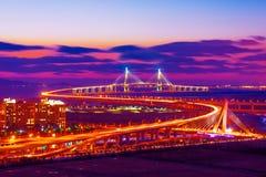 Puente de Seongsu en Seul fotografía de archivo libre de regalías