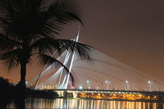 Puente de Seri Saujana Imagen de archivo