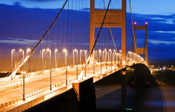 Puente de Severn Imagen de archivo libre de regalías