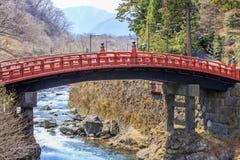 Puente de Shinkyo Imagen de archivo libre de regalías