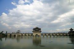 Puente de Shuanglong Foto de archivo