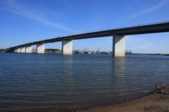 Puente de Siverskiy Fotografía de archivo