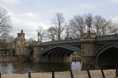 Puente de Skeldergate de la ciudad de York foto de archivo libre de regalías