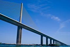 Puente de Skyway de la sol Fotos de archivo