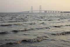 Puente de Suramadu Imágenes de archivo libres de regalías