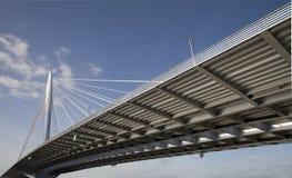 Puente de suspensión 10 imagen de archivo libre de regalías