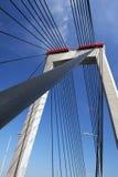 puente de suspensión fotos de archivo