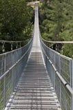 Puente de suspensión foto de archivo