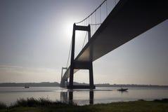 Puente de suspensión Fotografía de archivo