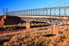Puente de suspensión de Cameron Fotografía de archivo libre de regalías