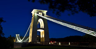 Puente de suspensión de Clifton Foto de archivo libre de regalías