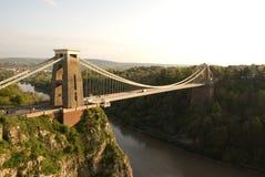 Puente de suspensión de Clifton Fotos de archivo
