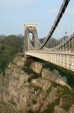 Puente de suspensión de Clifton imágenes de archivo libres de regalías