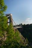 Puente de suspensión de Clifton, Bristol Fotos de archivo libres de regalías