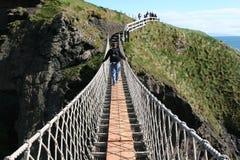 Puente de suspensión Imagen de archivo