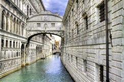 Puente de suspiros. Foto de archivo libre de regalías