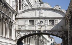 Puente de suspiros Imagen de archivo libre de regalías