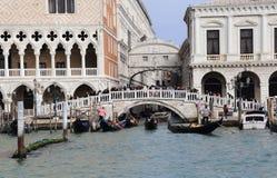 Puente de suspiros en Venecia, Italia imágenes de archivo libres de regalías