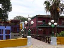 Puente de suspiros, Lima, Perú del distrito de Barranco Foto de archivo libre de regalías