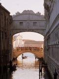 Puente de suspiros, Venecia Fotografía de archivo