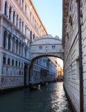 Puente de suspiros, Venecia Imagen de archivo libre de regalías