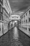 Puente de suspiros, Venecia, Italia Fotos de archivo libres de regalías