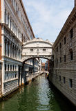Puente de suspiros, Venecia, Italia Foto de archivo libre de regalías